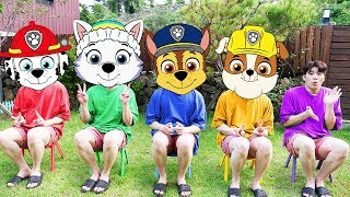 five monkeys song | 교육으로 동요와 아기의 노래를 Mainan dan lagu anak-anak
