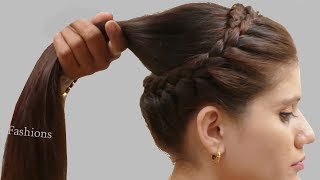 Different Ponytail hairstyle for Wedding/party | Hairstyles for School , College, Work