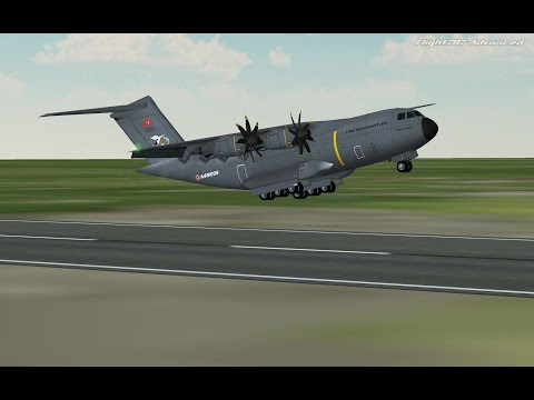 Flight 787 - Advanced - Airbus A400M ATLAS - [Turkish Air Force from (LTCN) to (OAKB)]