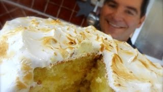 Lemon Meringue Cake: A Sweet Zesty Layer Cake
