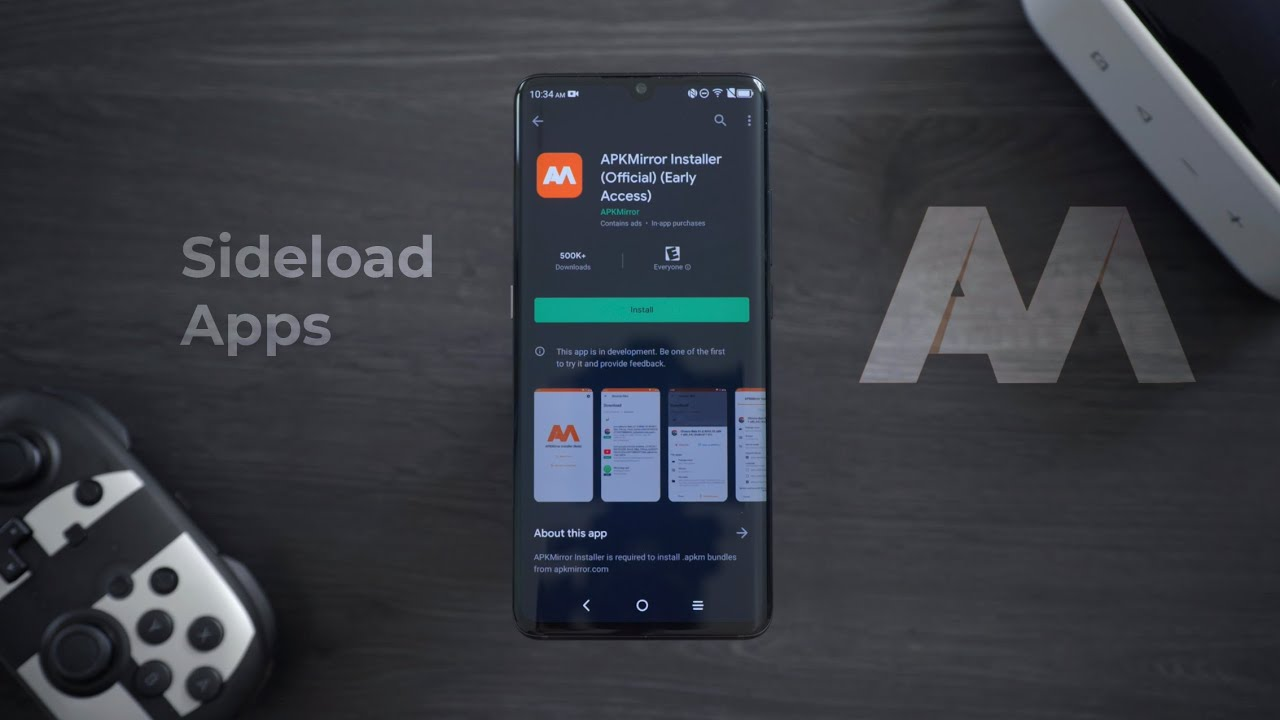 How to Sideload Apps on Android using APK Mirror