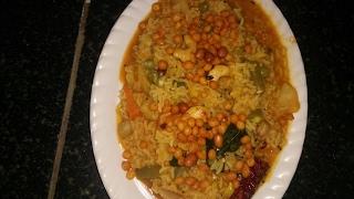 ಬಿಸಿಬೆಳೆ ಬಾತ್ bisi Bale bath in kannada/samber sadam recipe, thumbnail