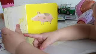 Изучаем животных на русском языке. Книжка с животными на русском языке. Урок для самых маленьких