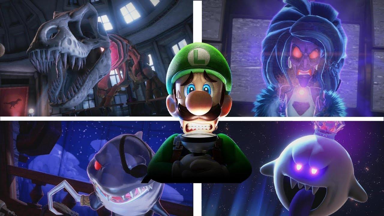 全ボスの攻略とエンディング【ルイージマンション3】【ラスボス】【All Bosses】【Ending】【Luigi\u0027s Mansion3】