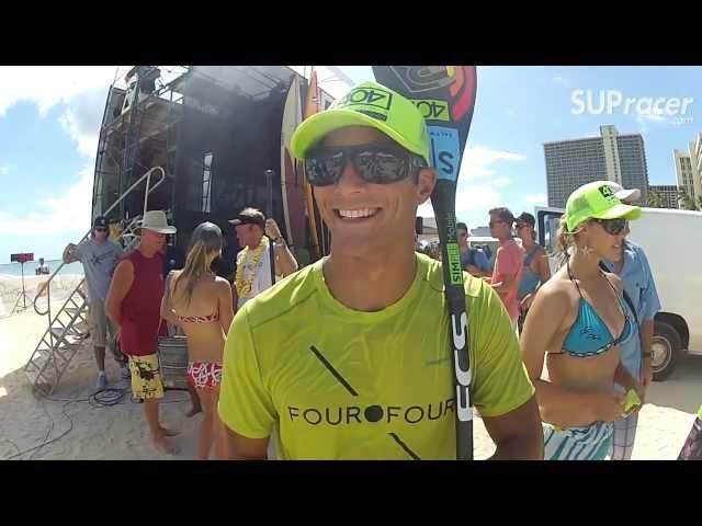 Danny Ching // Waikiki Paddle Festival // Post-Race Interview