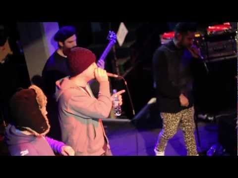 Foreign Beggars ft Task force - Coded Rhythm Talk (Live Jazz Cafe London 2013)