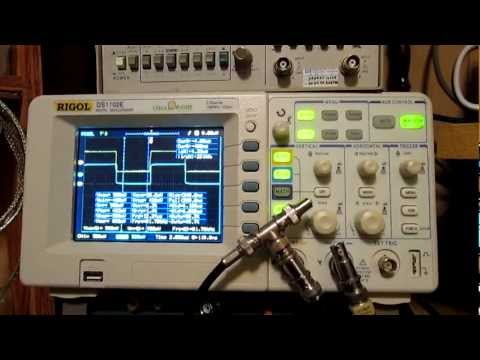 Poor Mans TDR using Delay times with an Oscilloscope