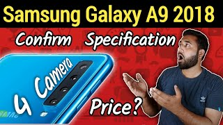 Samsung Galaxy A9 Star Pro 2018 (A9s), Four Camera, Leaks Specification, Price and Launch Date !
