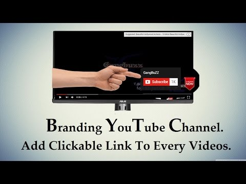 YouTube Channel Branding - How To Add Subscribe Button On YouTube Video   YouTube Branding  