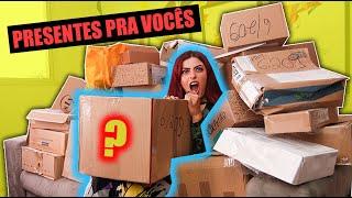 MUITA CAIXA DA ALEGRIA NESSES RECEBIDOS | ACUMULADAÇO !!