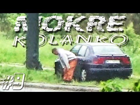 Wet Turn #9: Cordoba Street Lantern Crash, Leon, Roomster, Vectra, Golf & Peugeot 307 🚗