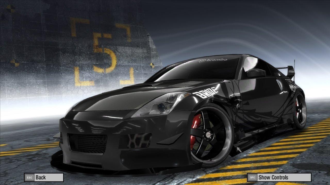 Modif Nisan 350z DK Ff Tokyo Drift Need For Speed Prostreet 5