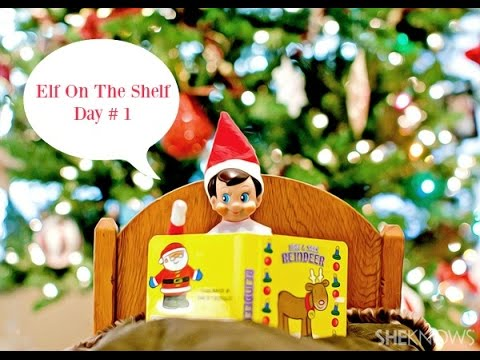 what is elf on the shelf story