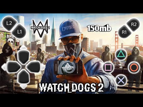 { Offline 150mb} How To Download Watch Dog 2 Real Beta For Android  with Gameplay