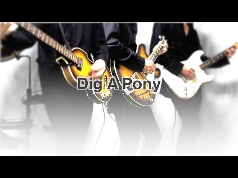 Dig A Pony - The Beatles karaoke cover