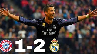 Real Madrid vs Bayern Munich 1-2 - All Goals & Highlights - UCL 2016/17 (1st leg)