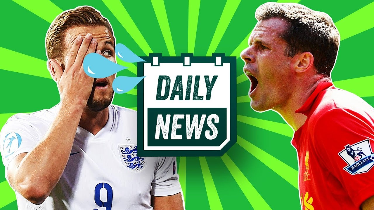 Jamie Carragher spitting video, Harry Kane out of World Cup, PAOK ...