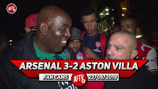 Arsenal 3-2 Aston Villa | Sack Emery On Monday Because We Haven't Improved! (Sonny)