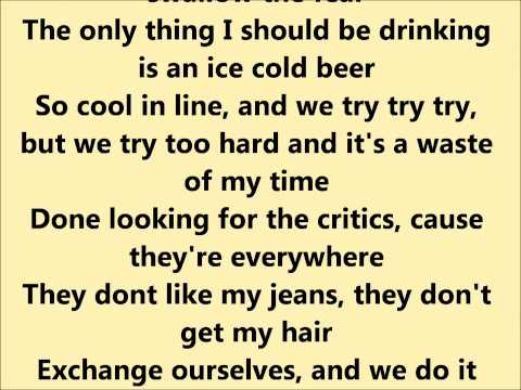 Pink- Less Than Perfect Lyrics