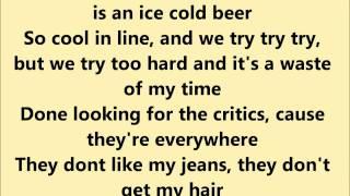 Pink- Less Than Perfect Lyrics