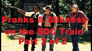 Pranks & Silliness part 2 on Silver Dollar City's Train- Ep 24 Confessions of a Theme Park Worker