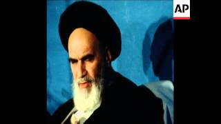 UNUSED 11 3 81 AYATOLLAH RUHOLLAH KHOMEINI SPEAKING IN TEHRAN