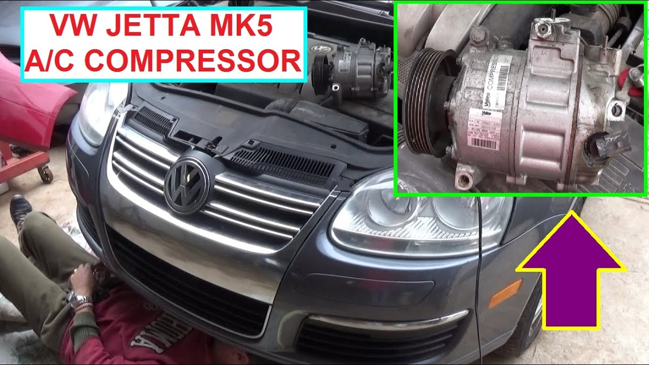 Vw Jetta Mk5 A C Compressor Replacement Golf Air Conditioner 2010 Fuse Diagram