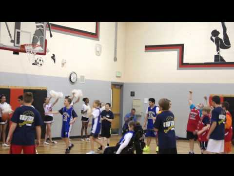 Justin Marquez Scores Again! Cresthill Middle School Unified Game on April 3, 2014