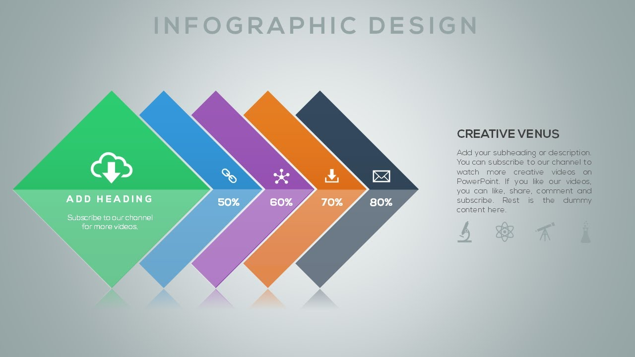 How to create an awesome infographics in microsoft office powerpoint ppt youtube for Microsoft word graphic design