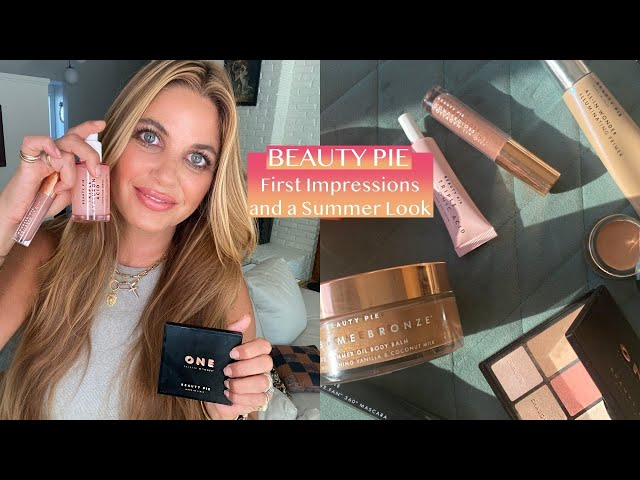 BEAUTY PIE First Impressions + a Complete Summer Look