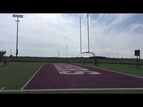 Anthony kicking field goal 5-24-18