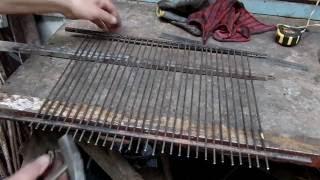 решетка для гриля своими руками из нержавейки мастер класс от Дачного мастера