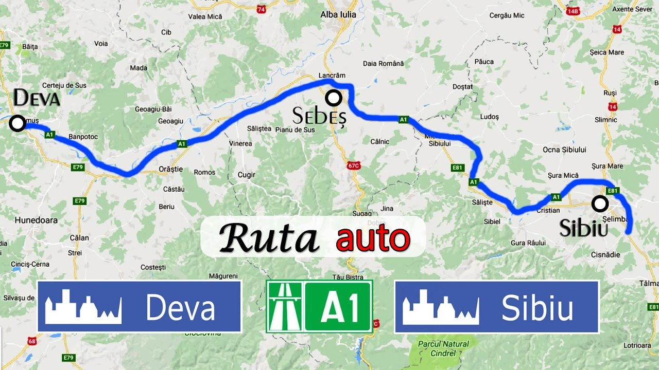 Autostrada A1 Deva Sibiu Ruta Auto Completa Redeschisa Youtube