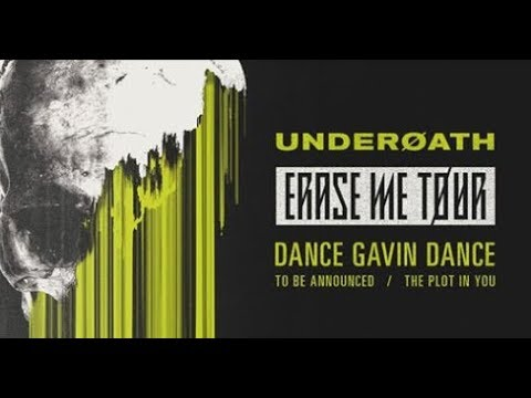 Dates added to Underoath tour, support from Dance Gavin Dance, Crown The Empire and The Plot In You