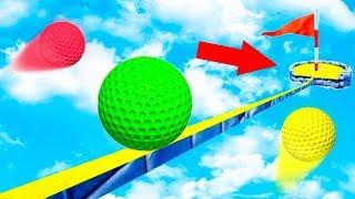ТОЛЬКО ЧИТЕР ПРОЙДЕТ ЭТУ ЛУНКУ! САМАЯ ЗАПУТАННАЯ КАРТА С ЧИТЕРСКИМИ ЛОВУШКАМИ В ГОЛЬФ ИТ (Golf It)