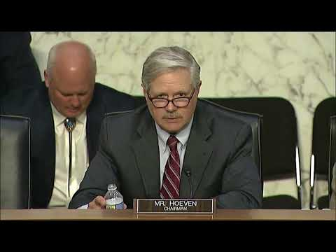 Hoeven Opening Statement at Oversight Hearing on Indian Gaming