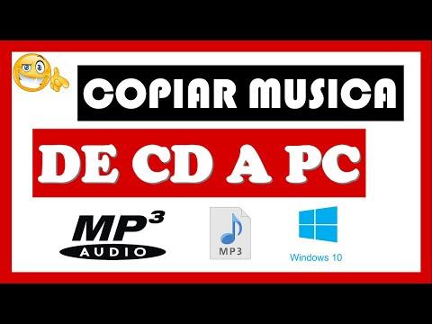 Como COPIAR Música de CD a PC [Sin Programas] 🔴