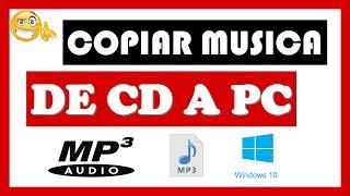 Como copiar musica de cd a usb