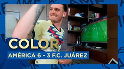 COLOR América 6-3 F.C. Juárez J4 #eLIGAMX🎮 | Club América Nicolás Benedetti
