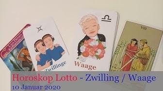 Horoskop Lotto - Zwilling / Waage