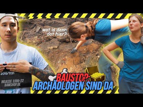 BAUSTOPP: Archäologen untersuchen unseren GARTEN nach wertvollen RELIKTEN