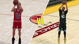 STEVE KERR VS KEVIN DURANT IN A THREE POINT CONTEST! WHO WOULD WIN? NBA 2K17 GAMEPALY!