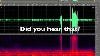 clintonville wi booms caught on audio