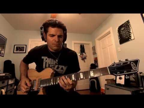 Baritone Funk #11 by Mark Lettieri playing Supro Island Series Hampton Baritone Guitar