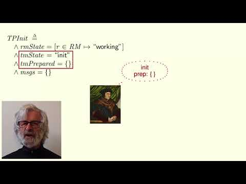 Lamport TLA+ Course Lecture 6: Two-Phase Commit (HD)