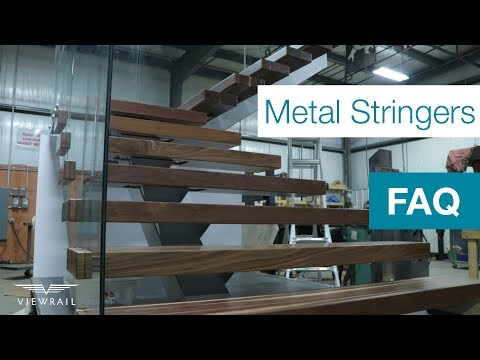 Metal Stair Stringers   Simple DIY install   Viewrail