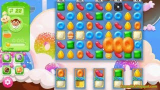 Candy Crush Jelly Saga - Level 221 (3 star, No boosters)
