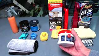 Auto Detailing Clay Showdown Review the truth below by | Auto Fanatic