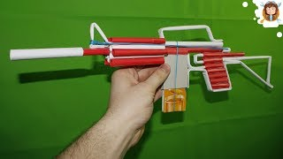 How to make a Paper M4 Assault Rifle that Shoots