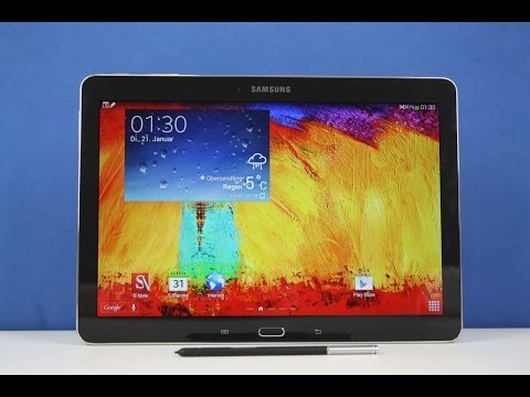 Samsung Galaxy Note 10.1 (2014) - Full Review deutsch